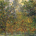 Under the Lemon Trees, Claude Oscar Monet