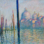 Claude Oscar Monet - The Grand Canal in Venice 01
