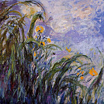 Claude Oscar Monet - Yellow Irises 3