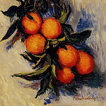 Claude Oscar Monet - Branch of Orange Bearing Fruit