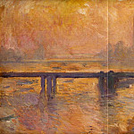 Charing Cross Bridge 02, Claude Oscar Monet
