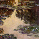 Water Lilies, 1907 13, Claude Oscar Monet