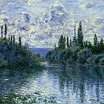 Claude Oscar Monet - Arm of the Seine near Vetheuil