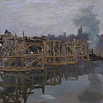 Клод Оскар Моне - The Bridge under Repair