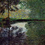 Claude Oscar Monet - The Pond at Montgeron 2