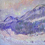 Claude Oscar Monet - Mount Kolsaas in Norway. JPG