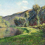Клод Оскар Моне - The Arm of the Siene at Jeufosse, Afternoon