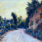 Road near Giverny, Claude Oscar Monet