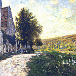 The Banks of the Seine, Lavacourt 02, Claude Oscar Monet