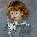 Claude Oscar Monet - Jean-Pierre Hoschede, called 'Bebe Jean'