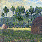 Haystack at Giverny, Claude Oscar Monet