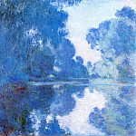 Claude Oscar Monet - Morning on the Seine