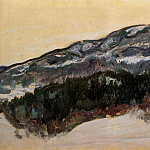 Claude Oscar Monet - Mount Kolsaas, Norway