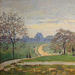 Hyde Park, London, Claude Oscar Monet