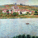 Claude Oscar Monet - Vetheuil, Morning Effect