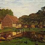 Farmyard in Normandy, Клод Оскар Моне
