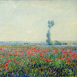 Poppy Field, Claude Oscar Monet