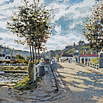 The Bridge at Bougival, Claude Oscar Monet
