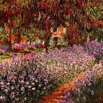 Клод Оскар Моне - Irises in Monet's Garden 02