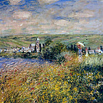 Claude Oscar Monet - Vetheuil Seen from Ile Saint Martin