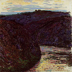Valley of the Creuse, Claude Oscar Monet