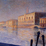 The Doges' Palace, Claude Oscar Monet
