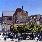 Saint Germain l'Auxerrois, Claude Oscar Monet