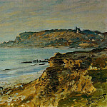Claude Oscar Monet - Cliff at Sainte-Adresse