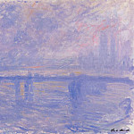Charing Cross Bridge 09, Claude Oscar Monet
