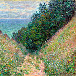Path at La Cavee, Pourville, Claude Oscar Monet