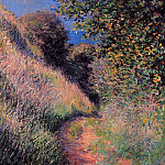 Claude Oscar Monet - Path at Pourville