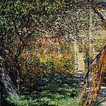 Monet's Garden at Vetheuil, Claude Oscar Monet