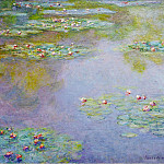 Water Lilies, 1907 01, Claude Oscar Monet
