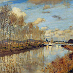 Argenteuil, Seen from the Small Arm of the Seine, Claude Oscar Monet