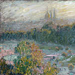 The Tuileries , Claude Oscar Monet