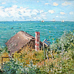 The Cabin at Saint-Adresse, Claude Oscar Monet