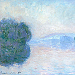 The Siene near Vernon, Claude Oscar Monet