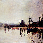 The Seine Below Rouen, Claude Oscar Monet