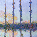 Claude Oscar Monet - Poplars (Four Trees)
