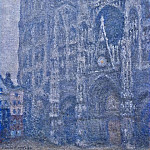 Rouen Cathedral, the Portal, Grey Weather, Клод Оскар Моне