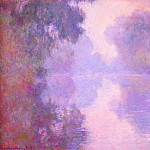 Claude Oscar Monet - Misty Morning on the Seine