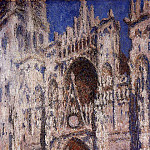 Claude Oscar Monet - Rouen Cathedral 01