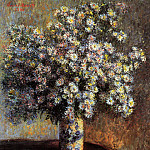 Claude Oscar Monet - Asters