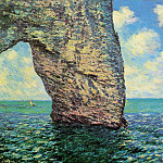 The Manneport at High Tide, Claude Oscar Monet