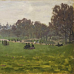 Green Park in London, Claude Oscar Monet