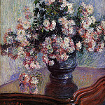 Chrysanthemums, Claude Oscar Monet
