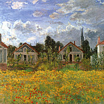 Claude Oscar Monet - Houses at Argenteuil. JPG