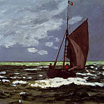 Stormy Seascape, Claude Oscar Monet