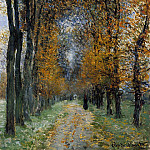 The Avenue, Claude Oscar Monet