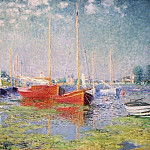 Клод Оскар Моне - Argenteuil. Yachts 01